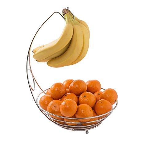 Mack Obstkorb mit Bananehaken 38 x 28 x 29 cm