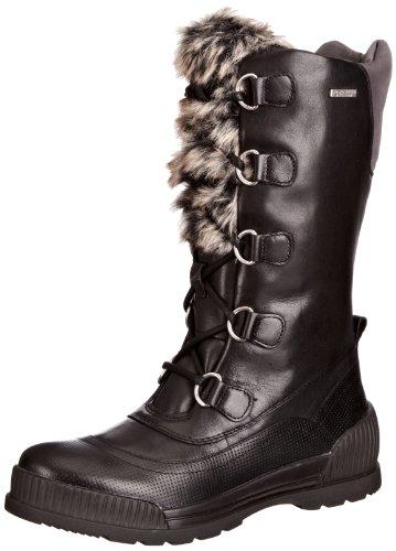 Rockport Aliana Lace Up, Bottes de Neige femme Noir - noir