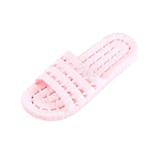 OCHENTA Chaussure de Bain Piscine Antiglisse Baignade Tong Abricot