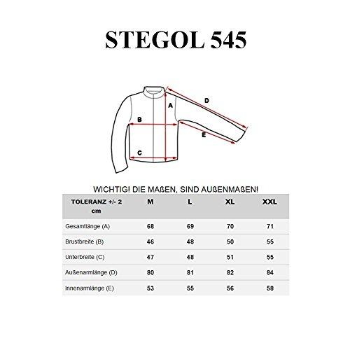 BOLF STEGOL Herren Longsleeve Langarm Shirt Slim Fit Pullover Sweatshirt 1A1 Mix Gelb_545