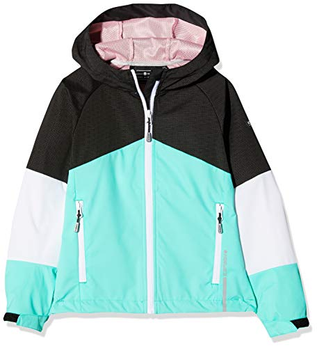 Icepeak Tawny JR Softshell Jacket Fille, Emerald, FR : 2XL (Taille Fabricant : 164)