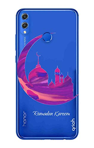 Qrioh Printed Designer Back Case Cover for Huawei Honor 8X-Ramadan  Kareem-351MG2AMUVT6504