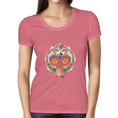 Texlab Legendary Moon - Damen T-Shirt, Größe L, Pink