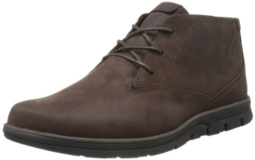 Timberland Herren Bradstreet Plain Toe Chukka Boots, Braun (Dark Brown Oiled), 46 EU - Herren Timberland Boots Chukka
