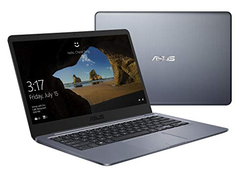 "Asus VivoBook E E406SA-BV233TS PC Portable 14"" HD (Intel Celeron N3000, RAM 4Go, 64Go EMMC, Windows 10 Home, Pack Office Inclus) Clavier AZERTY Français"