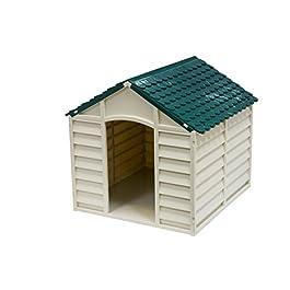 AVANTI TRENDSTORE – Cuccia per cani beige/verde, ca. 71x68x71cm