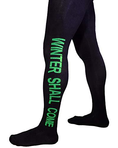 Weri Spezials Herrenstrumpfhose mit Eingriff, Größe:50/52, Farbe:Schwarz/Grün