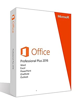 Microsoft Office 2016 Professional Plus license and download