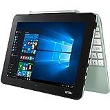 Asus T101HA-GR003T 25,7cm (10,1 Zoll Glare Type) 2-in-1 Notebook (Intel Atom, 32 GB Flash-Speicher, 2 GB RAM, Intel HD Graphics, Win 10 Home) mint grün