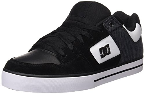 dc-shoes-pure-se-m-zapatillas-de-skateboarding-hombre-negro-black-white-45