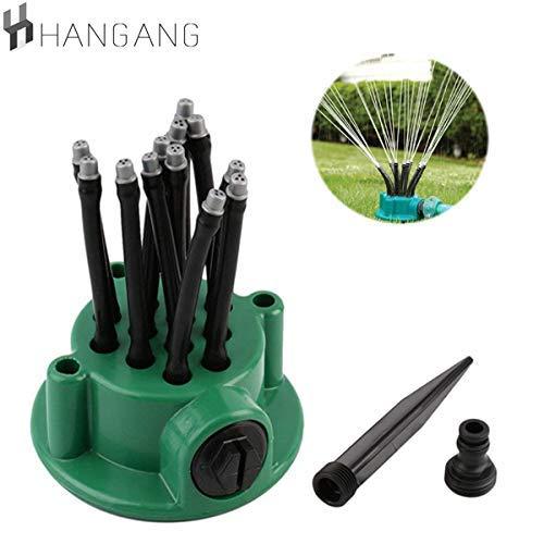Hangang Sprinkler-Garden Lawn Sprinkler Irrigation System, Sprinkler Head, Garden Sprinkler Rotary Arm Lawn, Garden Water Sprinkler Rasensprenger