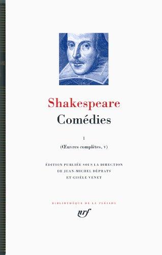 Œuvres complètes, V-VII:Comédies (Tome 1)