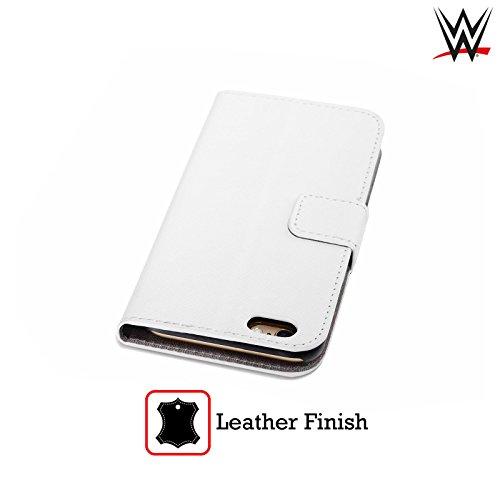 Offizielle WWE John Cena Superstars Brieftasche Handyhülle aus Leder für Apple iPhone 5 / 5s / SE AJ Styles