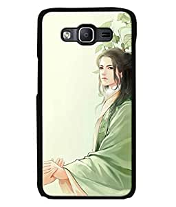 PrintVisa Designer Back Case Cover for Samsung Galaxy On 7 Pro (Girl holding hands with feelings)