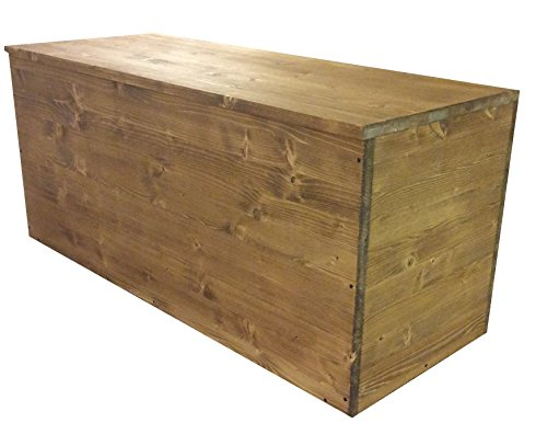 TOTAL WOOD 2012 Cassapanca Panca Contenitore Porta Legna 70x40x40cm Color Noce Scuro Anche su Misura