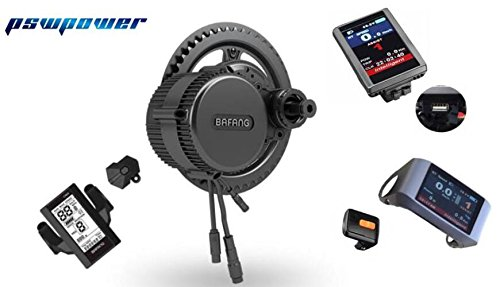 48V 750W bafang/8fun bbs02b Mid Kurbelantrieb Motor Kits Apt LCD Display Geared Motor Eletric Fahrrad eBike Kits (Germany Lager), 44Teeth P750C
