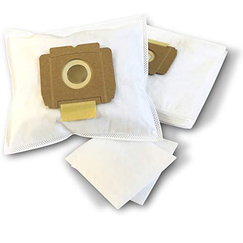 ZZ-Clan 10 Staubsaugerbeutel zu Menalux 1002, Staubbeutel Filtertüten (+2 Filter - NV614)