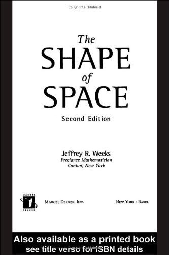by Weeks, Jeffrey R. The Shape of Space (Chapman & Hall/CRC Pure and Applied Mathematics) (2001) Hardcover