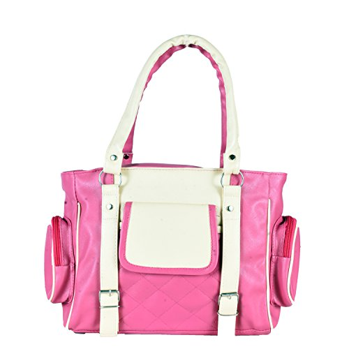 HOME ELITE DESIGNER LADIES HAND BAG , Pink- RG-HB-01