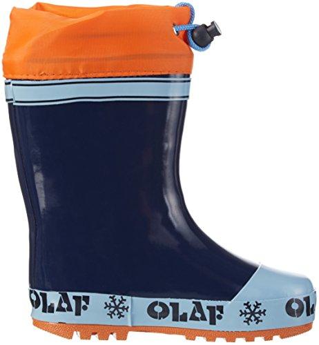 Die Eiskönigin Jungen Boys Kids Rainboots Boots Gummistiefel Blau (NAV/LBLU/ORA 150)