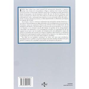 Sociología Y Género (Derecho - Biblioteca Universitaria De Editorial Tecnos)