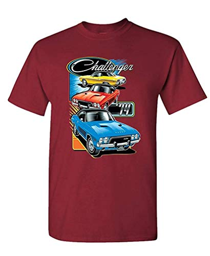 Trio Männer Kostüm - Challenger Trio - Officially Licensed Dodge - Mens Cotton T-Shirt M