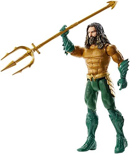 Mattel FWX60 DC Aquaman 15 cm Figur, Spielzeug Actionfiguren ab 4 Jahren (Dc-spielzeug)