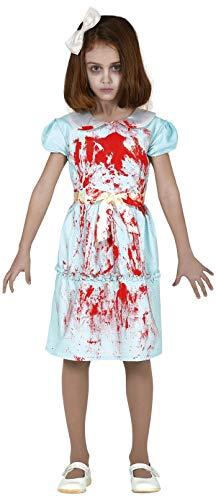 Zubehör Kostüm Exorzist - Fancy Me Mädchen Gruselige blutige Zwillingsschwester Gruselige Horror-Kostüm, Halloween-Kostüm, 5-12 Jahre