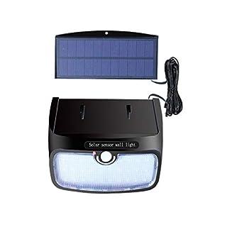 Formulaone Außenbeleuchtung Wandleuchte Solarbetriebene Klingen Control Motion-Sensing-Licht Menschlicher Körper Induktions Wandleuchte 28 LEDs Eingabe - Schwarz