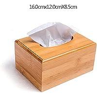Dudu Rechteckige Bambuspapiere Handtuchspeicher, Creative Home Storage Box, Office Living Room Storage Box,Medium
