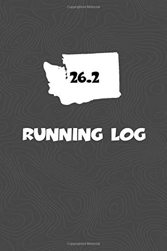 Running Log: Blank Lined Journal for anyone that loves Washington, running, marathons! por KwG Creates