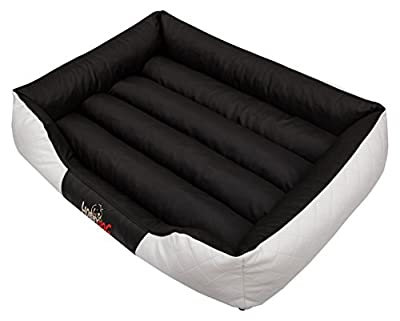 Hobbydog Cesarean Standard Cama para Perro, Tamaño 2, Color Blanco/Negro