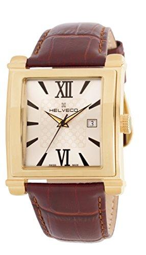 Helveco H26041SR - Reloj color marrón