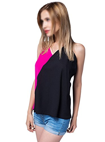 LA HAUTE Damen Top Rose red and black