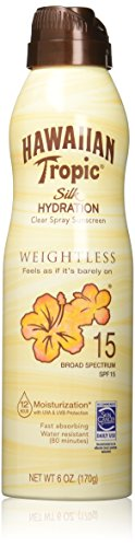 Hawaiian Tropic Silk Hydration Continuous Spray Sunscreen SPF 15 6 fl oz (177 ml) Sonnenschutz -