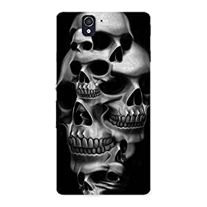 Skull Monument Back Case Cover for Sony Xperia Z