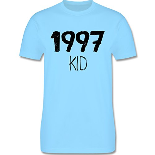 Geburtstag - 1997 KID - Herren Premium T-Shirt Hellblau