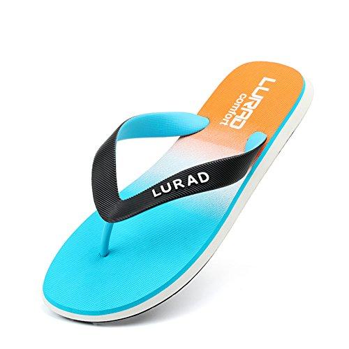 flip-flops mode hommes/Sandales d'été/Hommes chaussures/Pantoufles de pieds anti-dérapant clip A