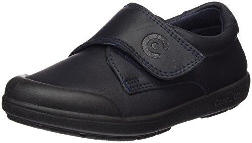 Conguitos Zapato Colegial Lavable Velcro, Cordones Derby Bebé, Azul (Marino 2), 25 EU