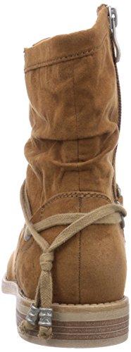 Braun Damen Tozzi Boots Marco muscat 311 Biker 25306 qwARqxX6