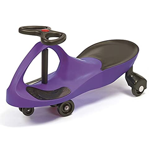 Kids Ride On Toy Wiggle Car, Boys & Girls Gyro Twist & Go Swivel Scooter No Pedals and No Batteries for Indoor / Outdoor (Purple)