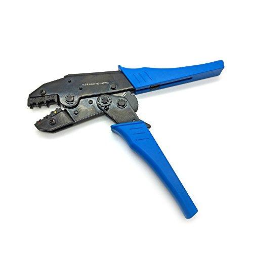 ARLI Crimpzange 0,5 - 6 mm Elektrische Steckverbinder Flachstecker Kabelschuhe Verbinder Quetschverbinder Zange Set Terminals kfz Stoßverbinder Sortiment Steckverbinde