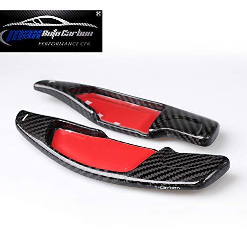 Max Auto Carbon ® Echt Carbon Schaltpaddles Schaltwippen passend für BMW 3er G20 5er G30 G31 M5 F90 6er G32 7er G11 G12 X2M X3 G01 X4 G02 X5 G05 X6 G06 X7 G07 Z4 G29