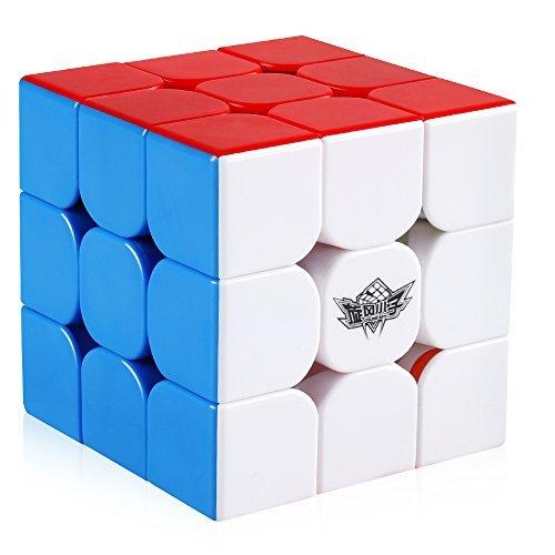 Coogam Cyclone Boys 3 x 3 magnetische Geschwindigkeit Cube Stickerless 3 x 3 x 3 Magic Puzzle Spielzeug (FeiJue M Version) (Cyclone Boys 3x3x3)