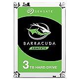 Seagate ST3000DMZ07 BarraCuda Interne Festplatte, 3,5 Zoll (3,5 Zoll), 3 TB, silberfarben