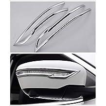 Cubierta para Espejo retrovisor Lateral de Cromo para Nissan 2014-2018, Qashqai J11 XTrail