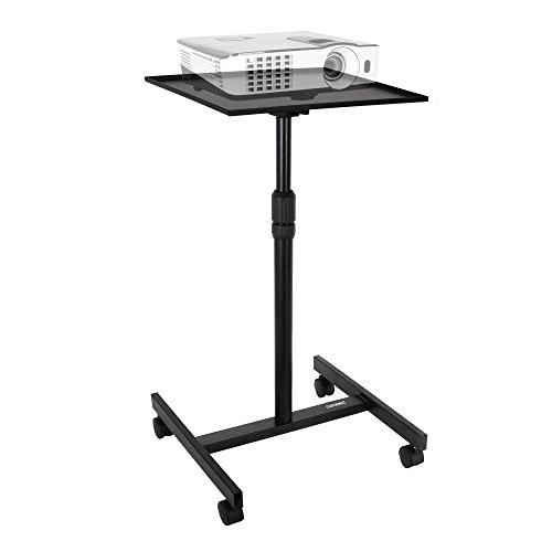 Duronic WPS20 Beamer und Projektorwagen / Beamertisch / Projektionstisch / Laptoptisch / höhenverstellbar