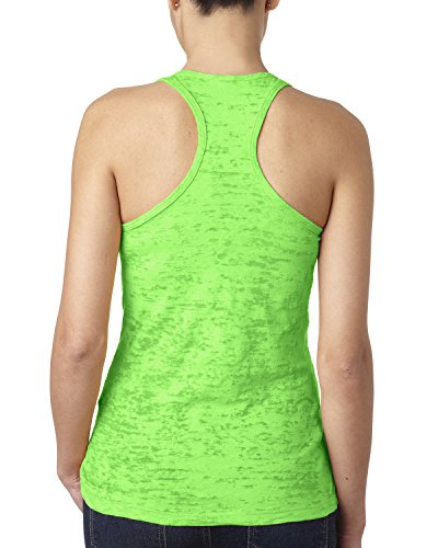 Next Level - T-shirt de sport - Femme Vert - Vert fluorescent