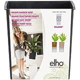 Elho Milano Easy Insert - Adaptador para maceteros grandes (30 cm), color negro