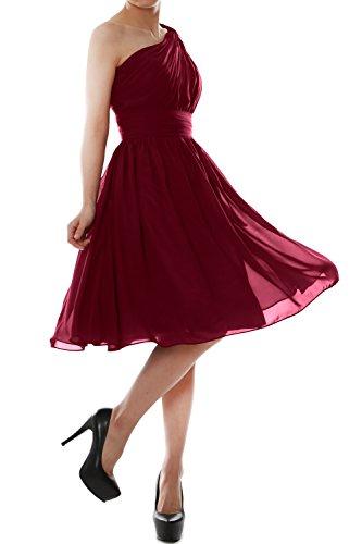 MACloth - Robe - Trapèze - Sans Manche - Femme Wine Red